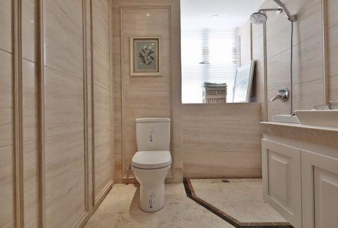 卫生间洗漱台简欧风格装饰设计图片