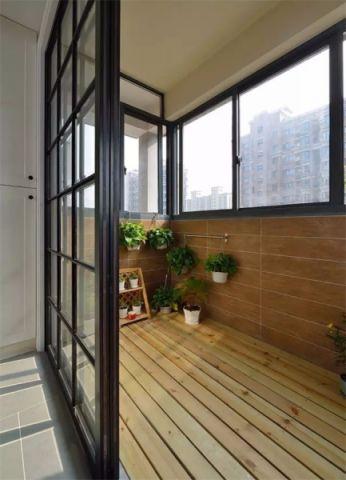 阳台细节混搭风格装潢设计图片