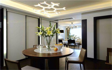 现代简约风格170平米四室两厅新房装修效果图