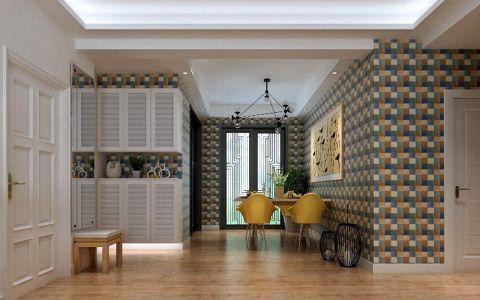 餐厅橱柜现代风格装潢设计图片