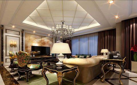 法式风格四居室装修效果图