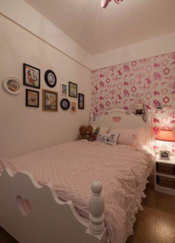 儿童房照片墙混搭风格装修图片