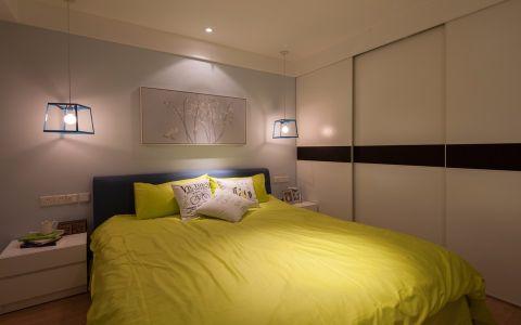 卧室推拉门混搭风格装饰图片