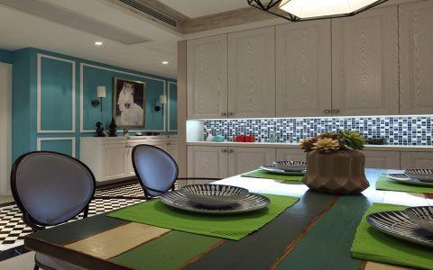 餐厅橱柜混搭风格装潢设计图片
