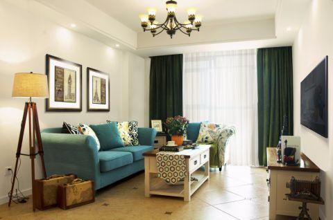 富越香郡138方美式风格公寓装修效果图