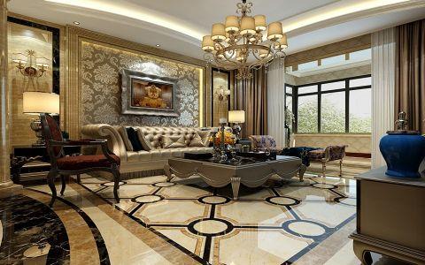 新古典风格四居室装修设计图