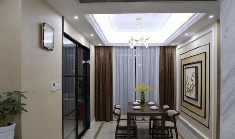 简约风格156平米三室两厅新房装修效果图