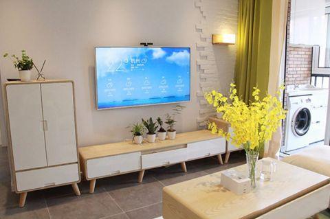 客厅电视柜北欧风格效果图