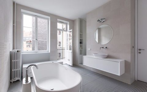 卫生间细节北欧风格装饰图片