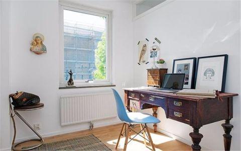 书房橱柜北欧风格装潢效果图
