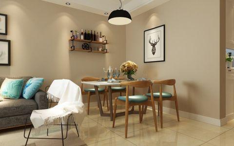 餐厅照片墙北欧风格装饰效果图