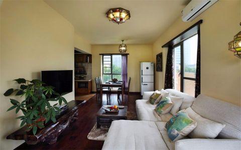 2020东南亚100平米图片 2020东南亚二居室装修设计