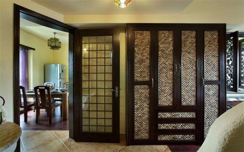 客厅隔断东南亚风格装修设计图片