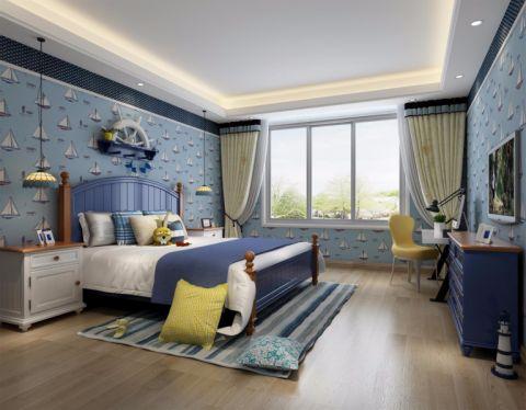卧室吧台地中海风格装潢设计图片