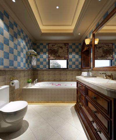 卫生间细节欧式风格装饰效果图