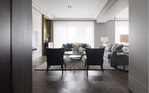 客厅细节简约风格装潢效果图