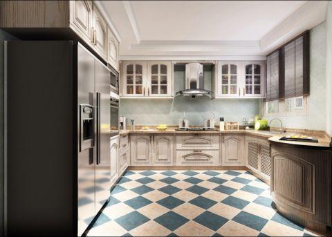 厨房泳池欧式风格装饰设计图片