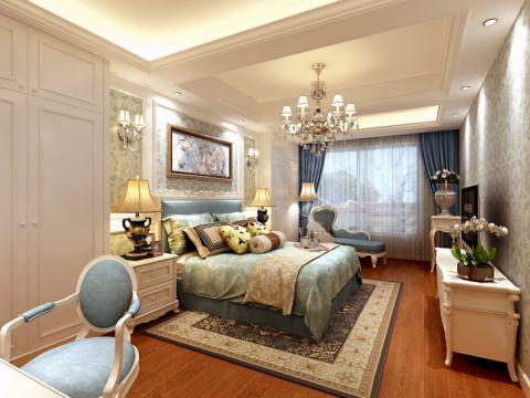 卧室门厅欧式风格装潢图片