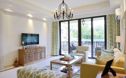 夏洛兹花园135平田园风格三居室装修效果图