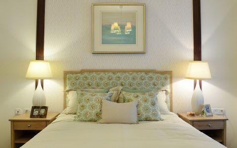 卧室细节田园风格装潢图片