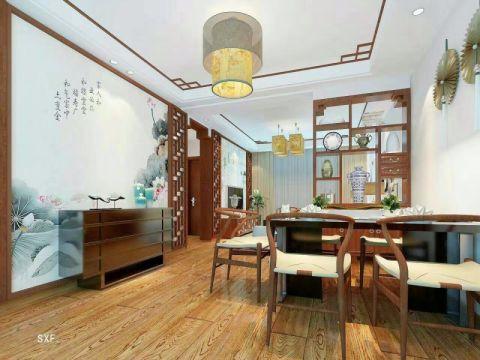 客厅细节中式风格装潢图片