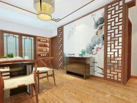 客厅细节中式风格装饰设计图片