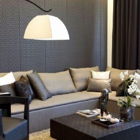 客厅细节后现代风格装饰设计图片