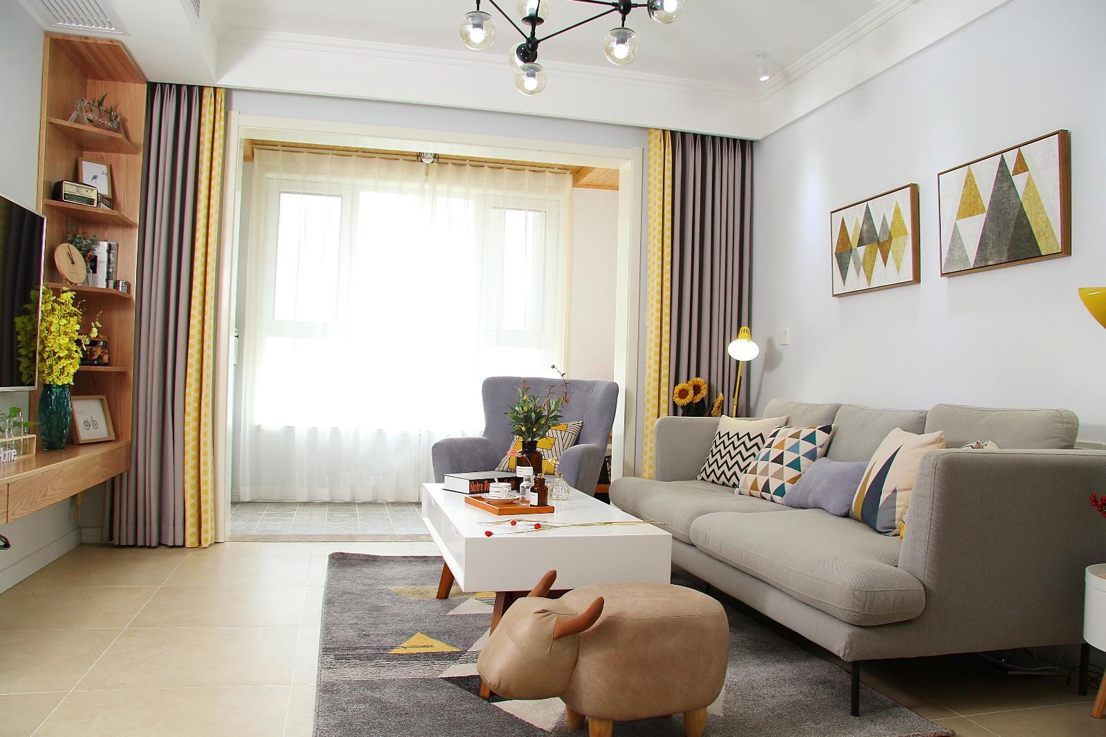 2室1卫1厅现代简约风格