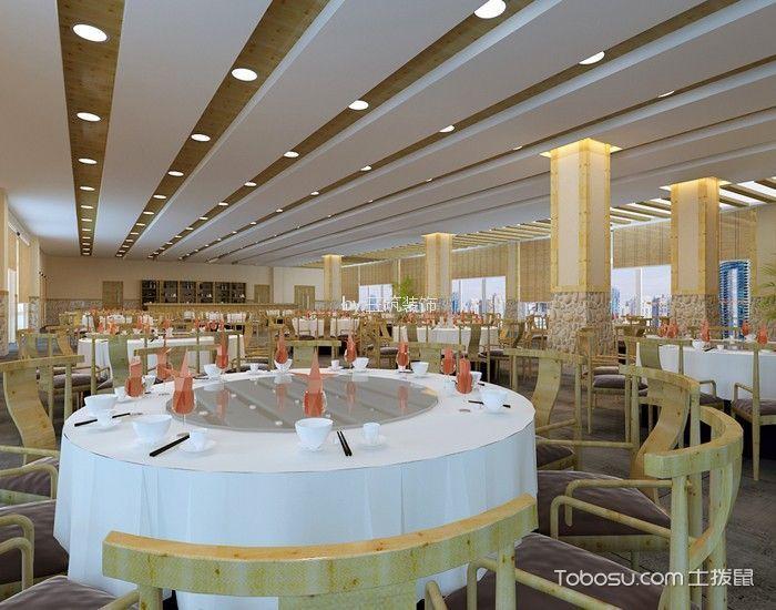 西庄温泉度假村酒店餐厅餐桌装修图片