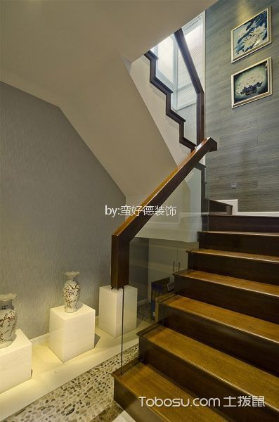 中海康城90平混搭风格二居室装修效果图图片