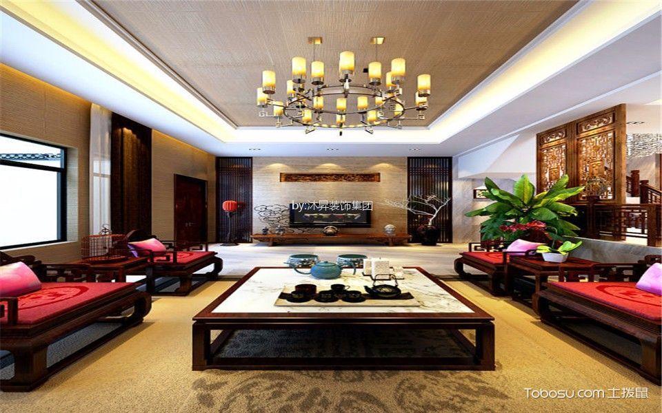 新古典风格142平米四室两厅新房装修效果图