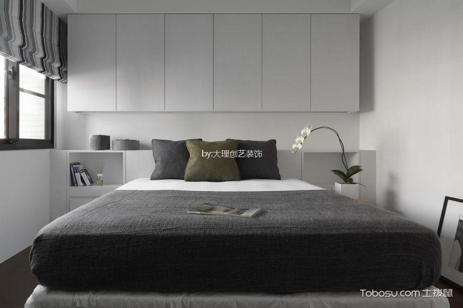 卧室 窗帘_北欧风格130平米大户型新房装修效果图