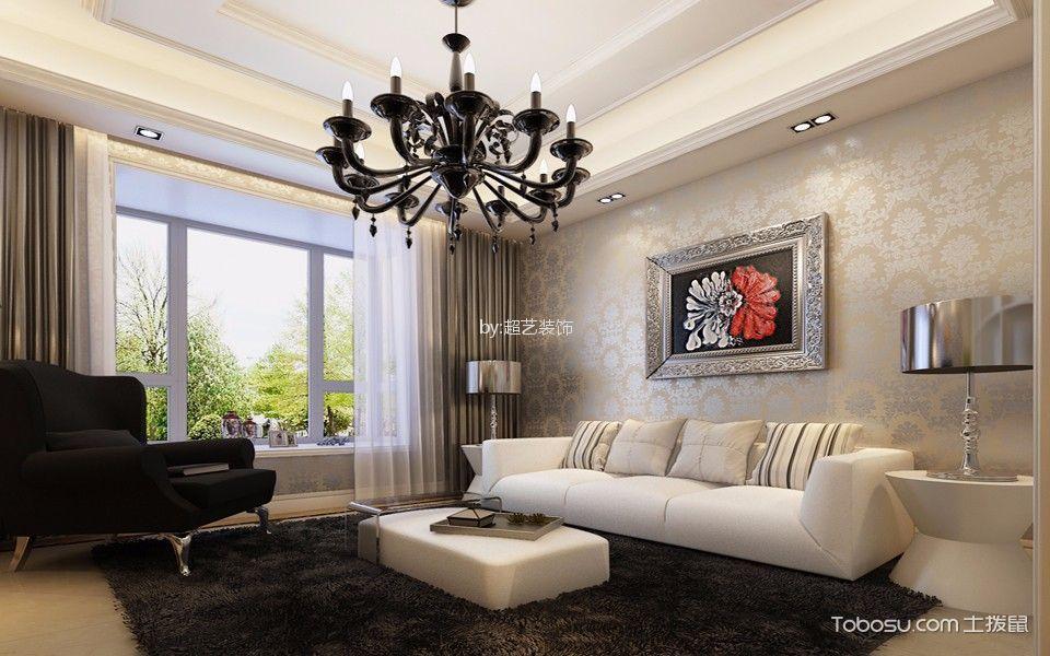 简欧风格200平米复式室内装修效果图