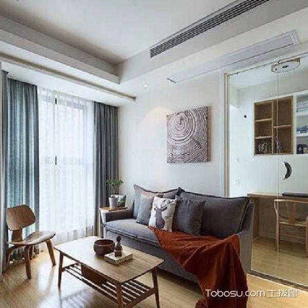 上海城100平方日式风格两居室装修效果图