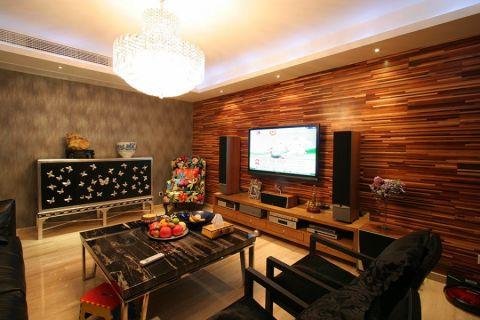 和庭雅苑140平米现代风格三居室装修效果图