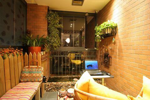 花园门厅现代风格装饰效果图
