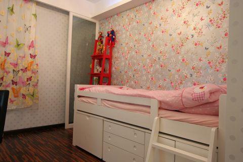 儿童房榻榻米现代风格装潢图片