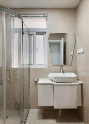 卫生间细节简约风格装潢效果图