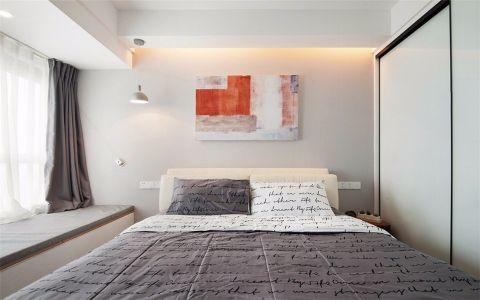 卧室照片墙简约风格装潢图片