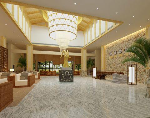 60万西庄温泉度假村酒店装修效果图