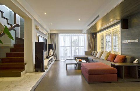 帝景园243平米中式风格四居室装修效果图