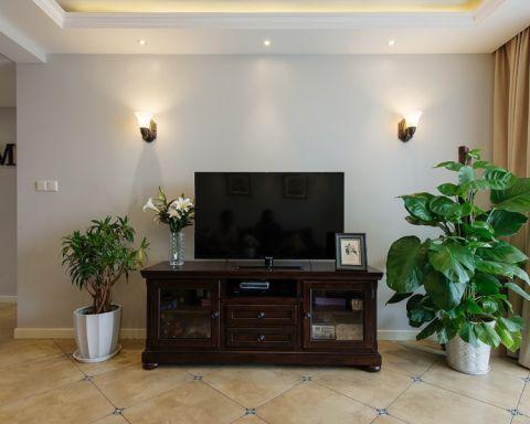 客厅地砖美式风格装修效果图