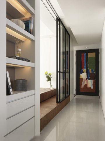 客厅走廊北欧风格装潢设计图片