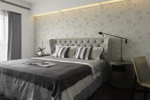 卧室背景墙北欧风格效果图