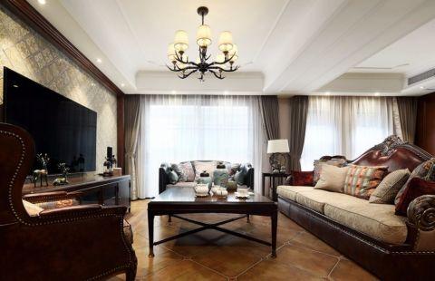 美式风格310平米别墅室内装修效果图