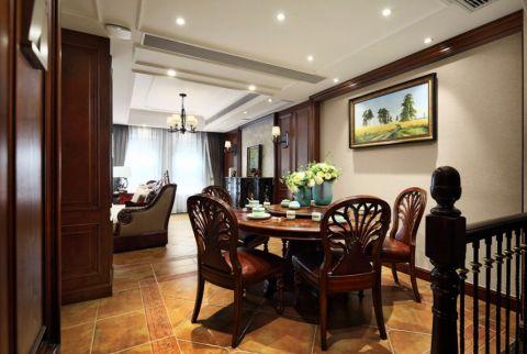 餐厅榻榻米美式风格装修设计图片