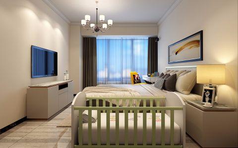 卧室电视柜现代风格装饰设计图片