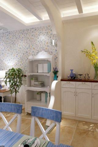 餐厅细节地中海风格装潢图片