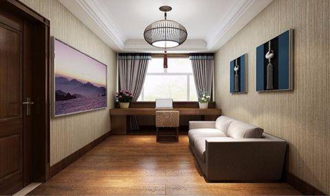 卧室吊顶东南亚风格装潢设计图片