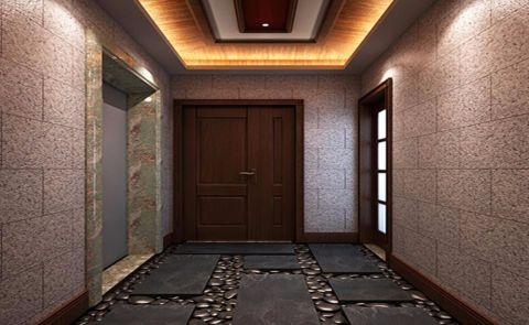 玄关吊顶东南亚风格装修效果图